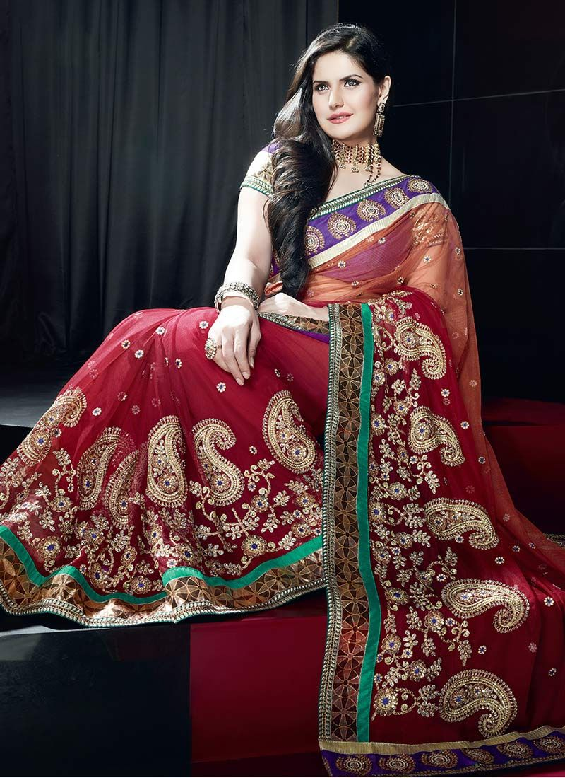 Net Party Wear Saree