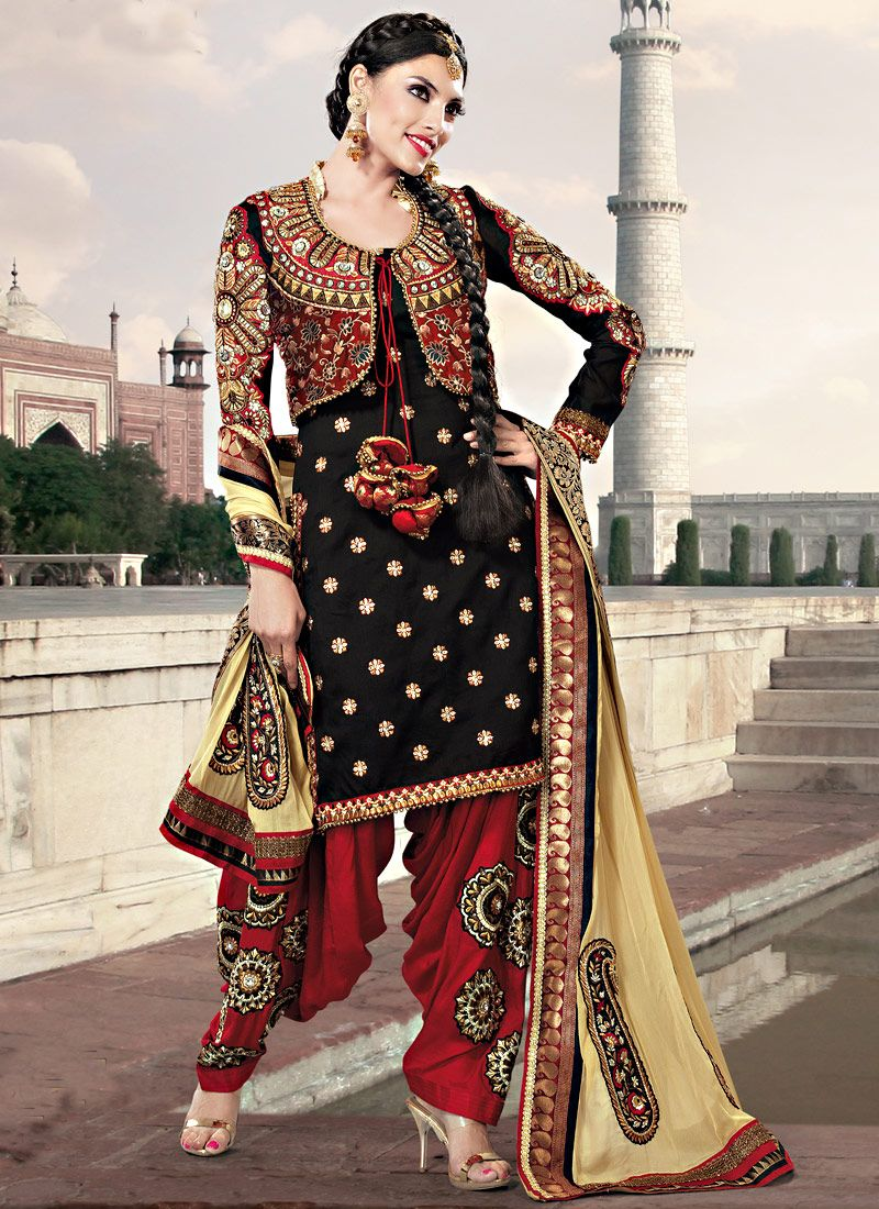 pujabi suit by fashionable dresses in india