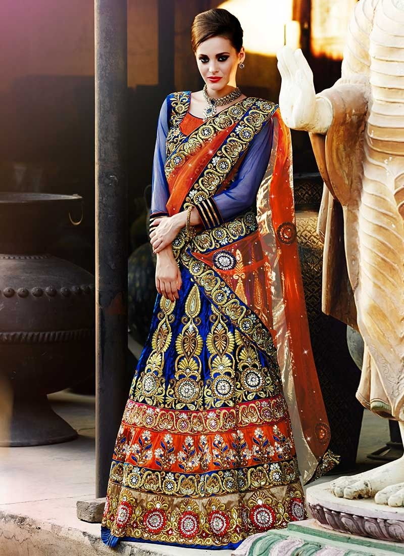 Lehenga Choli and Ghagra for Wedding and Bridal Wear