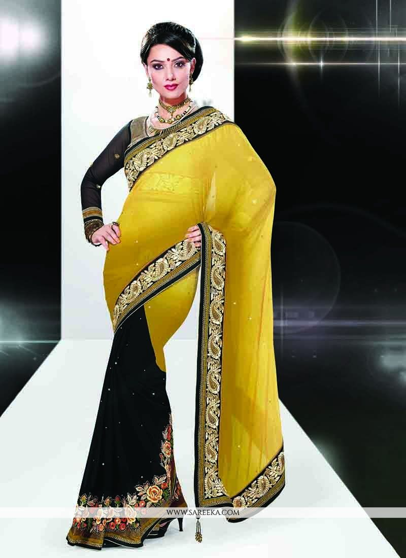 aa2c8f621e Patch Work Blouse Designs For Silk Sarees | Toffee Art