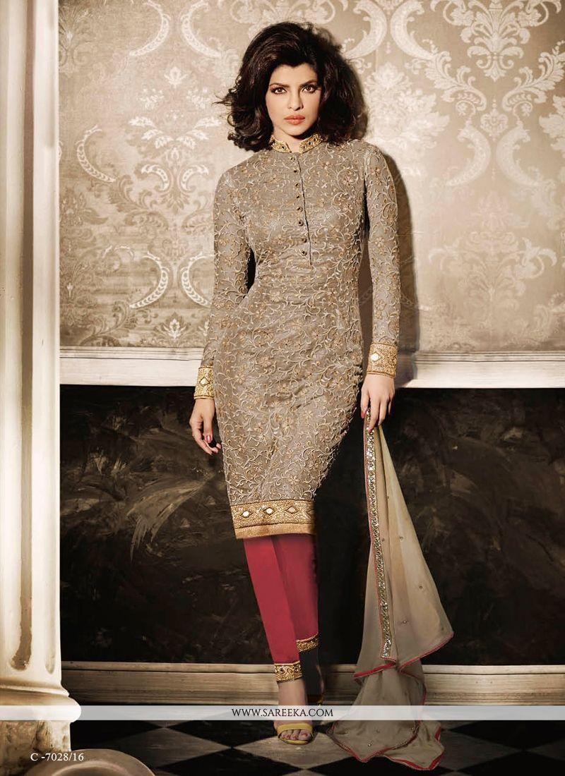 Designer Churidar Suits Online India